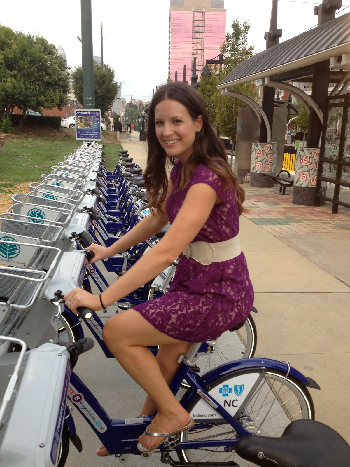 Take a ride on one of the nation's only Bike Share programs.  Just a few blocks away.