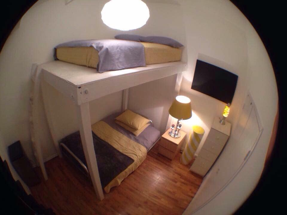 Loft in clinton hill ,room for 1-4