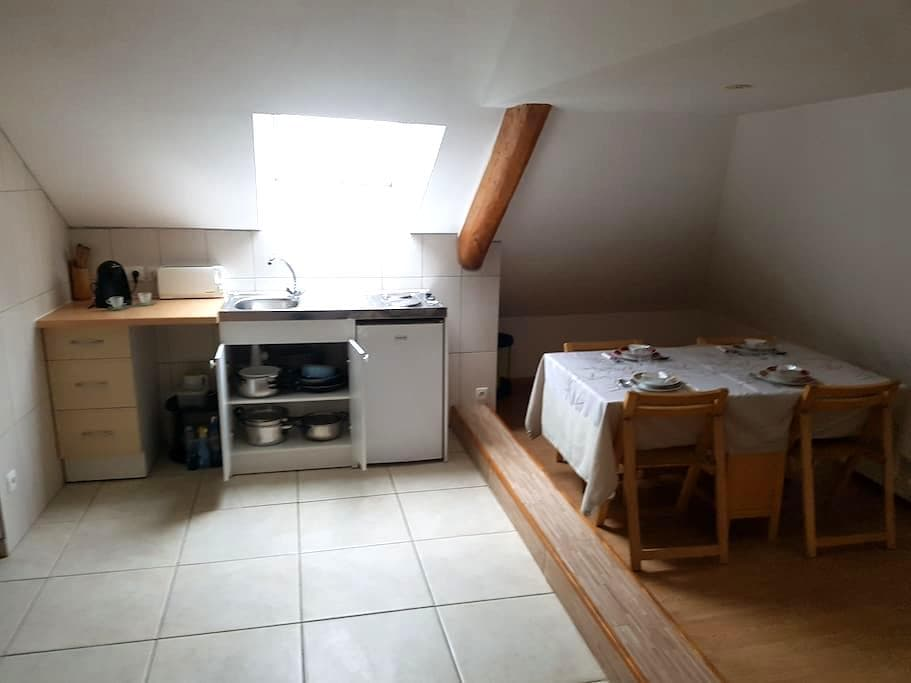 Studio meublé en centre ville proche Chambord - Mer - Apartamento