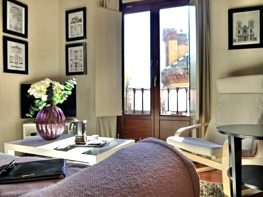 ¡¡ÁTICO CENTRICO TERRAZA+WIFI+A/C!! - Seville - Apartment