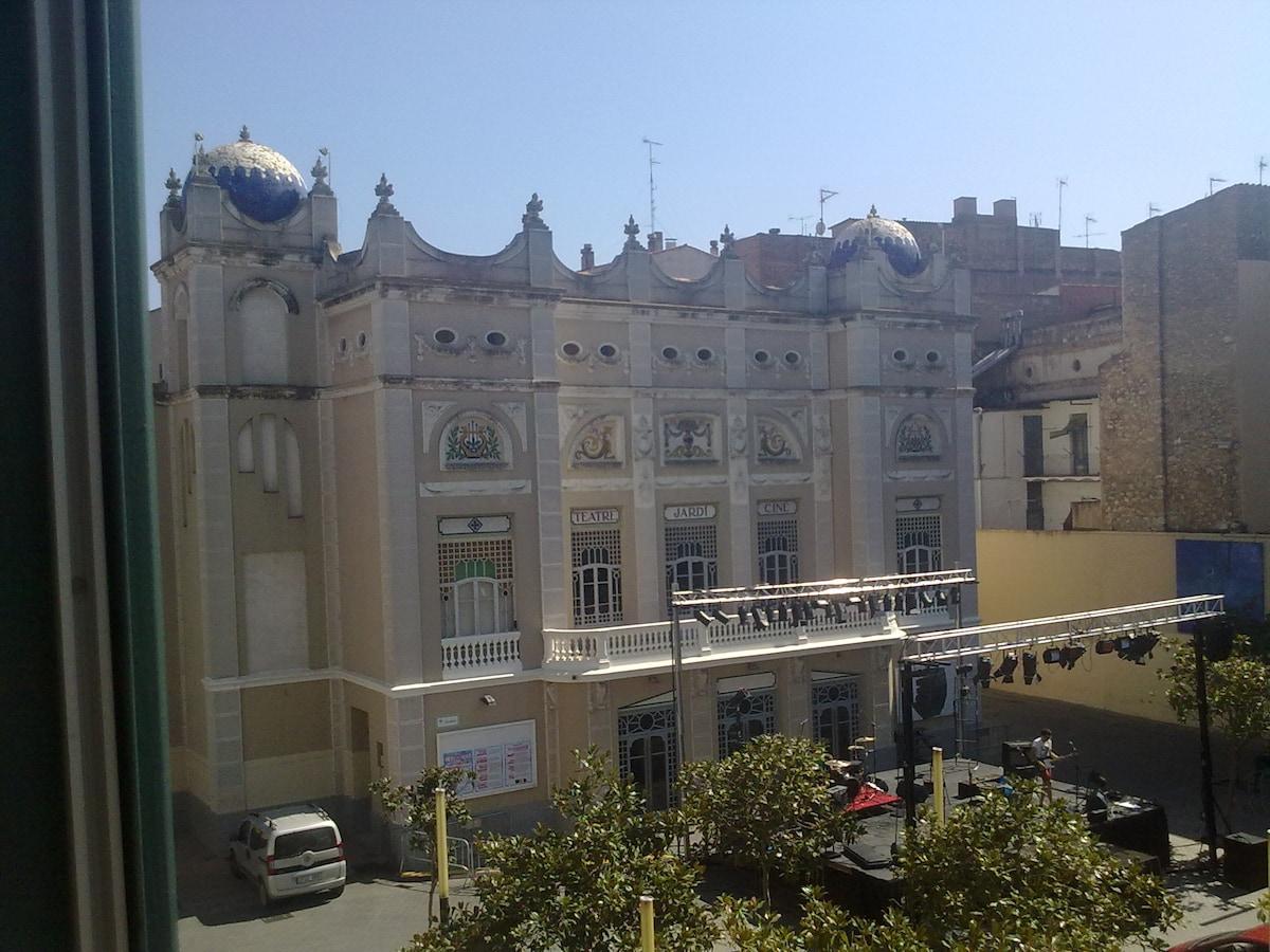 Teatro municipal El Jardin (Vista desde la terraza)