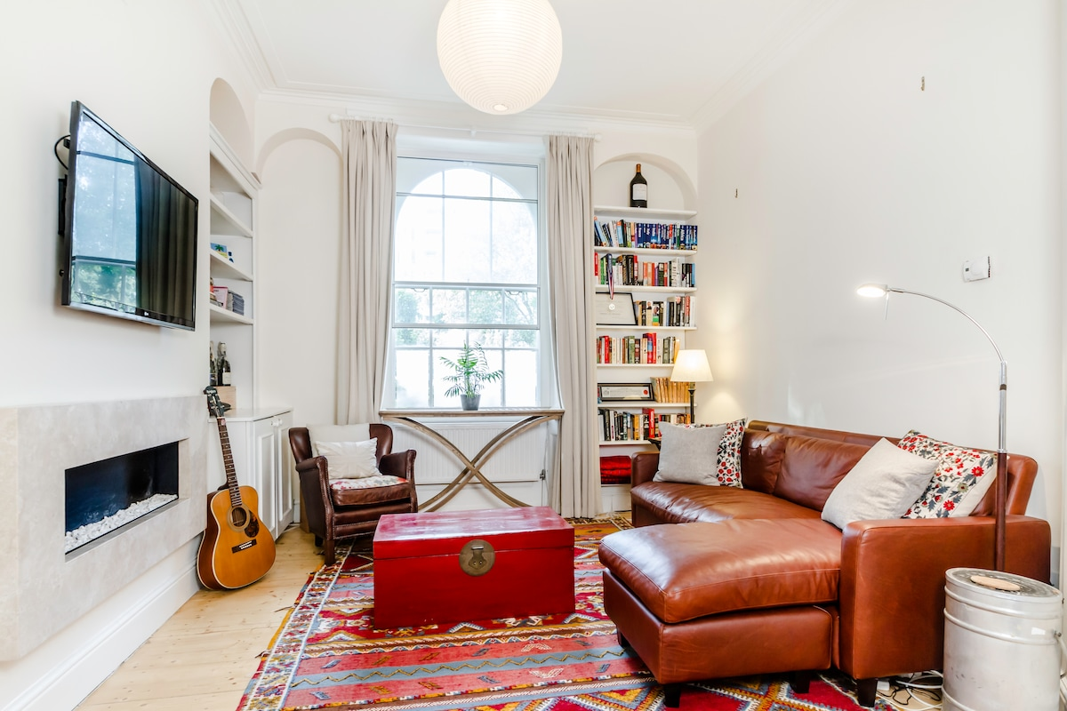 Russell Square - 2 bed with garden