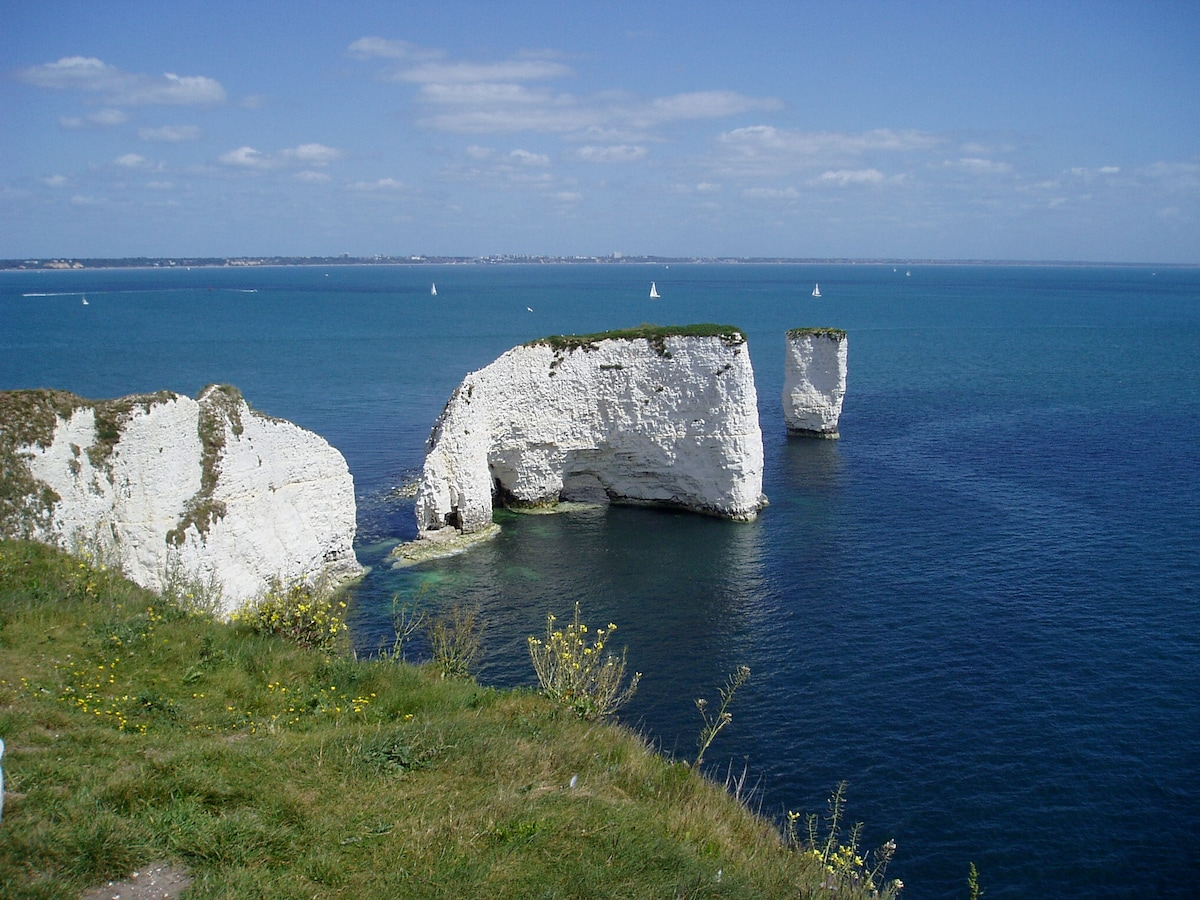 Old Harry Rocks (between Swanage and Studland) a stunning coastal walk from our house