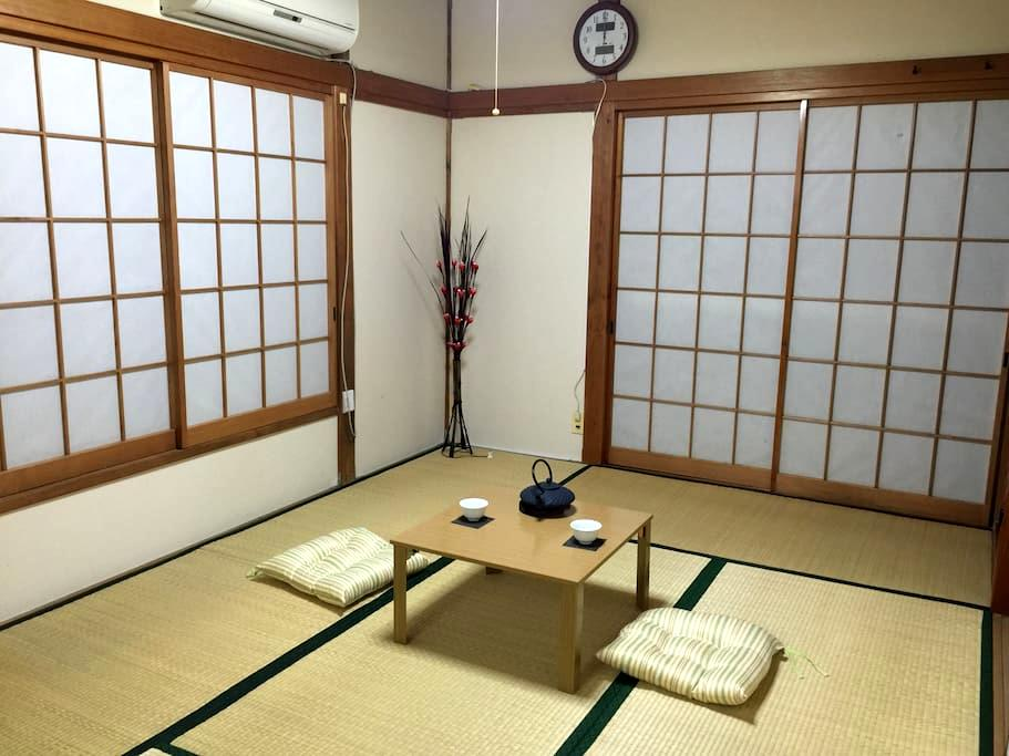 Let's stay in Japanese traditional style room - 葛飾区 - Casa