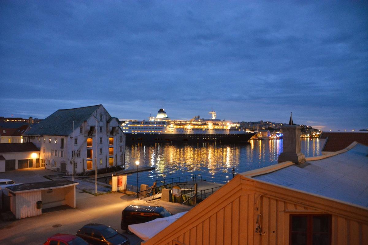 Kristiansund harbor.