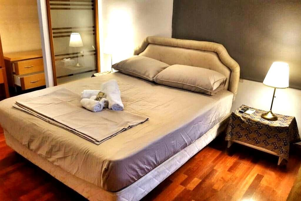 Lovely room with luxurious mattress and bedding - Kuala Lumpur - Appartement