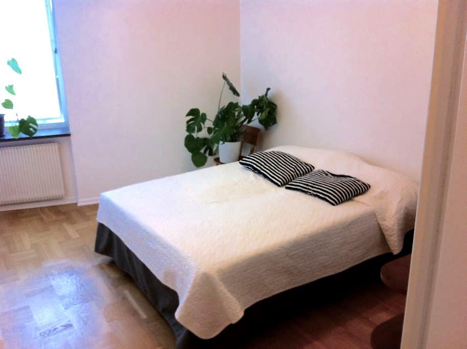 Stort rum, eget WC, centralt läge - Lund - Appartement