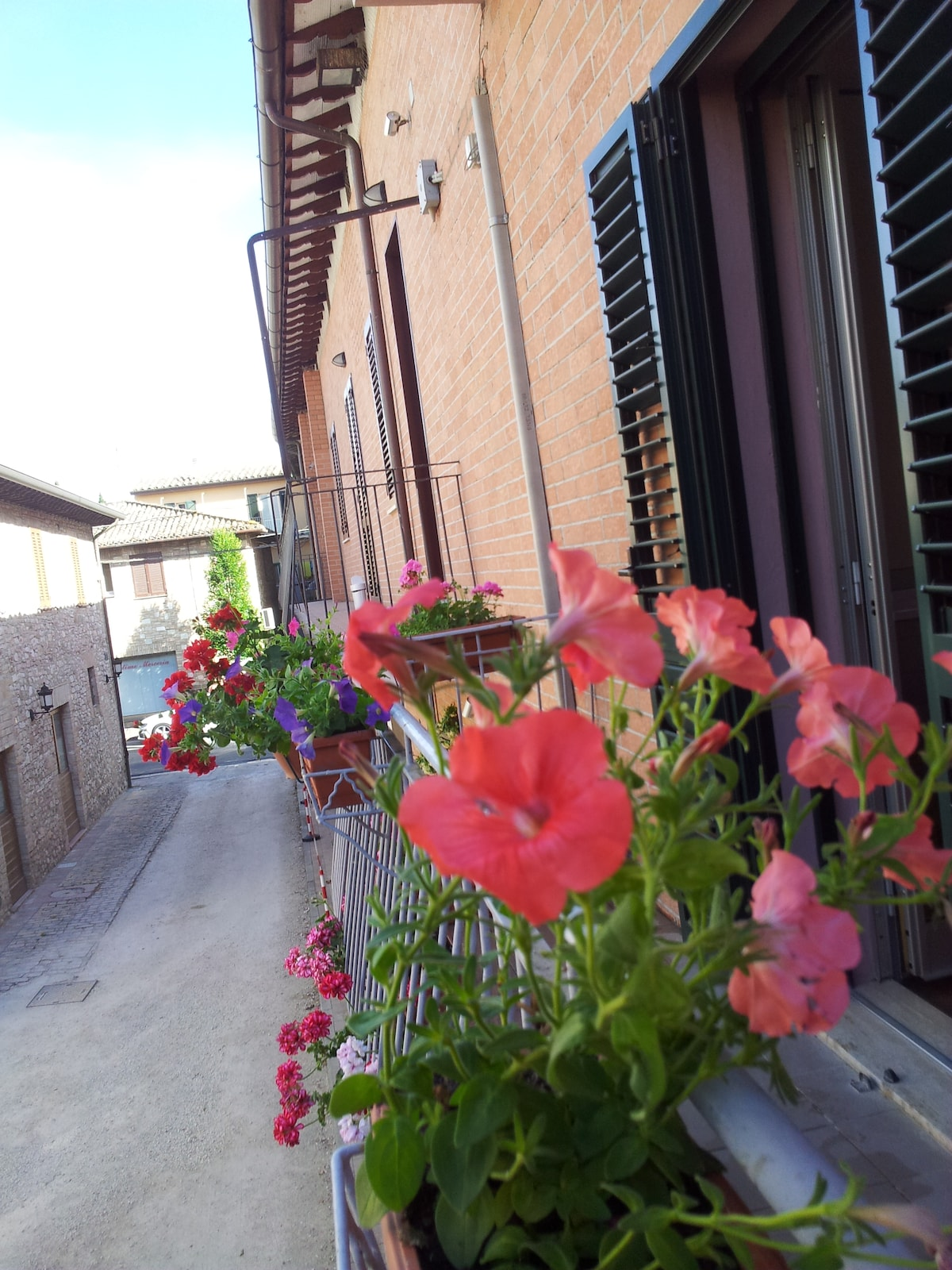 Camera quadrupla Il Balcone -Assisi