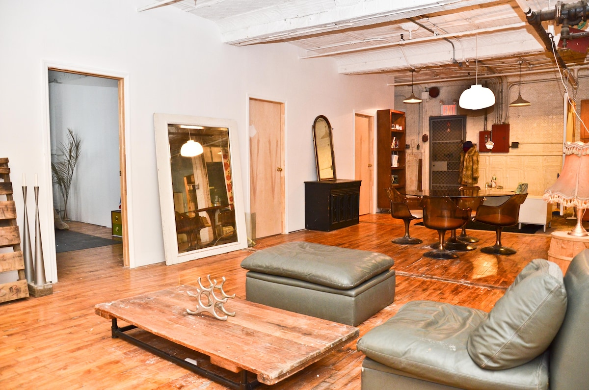 Unique SoHo artist loft 2