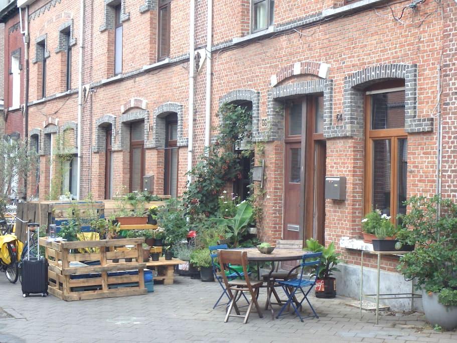 Convenient located quiet cosy house - Antwerpen - Huis