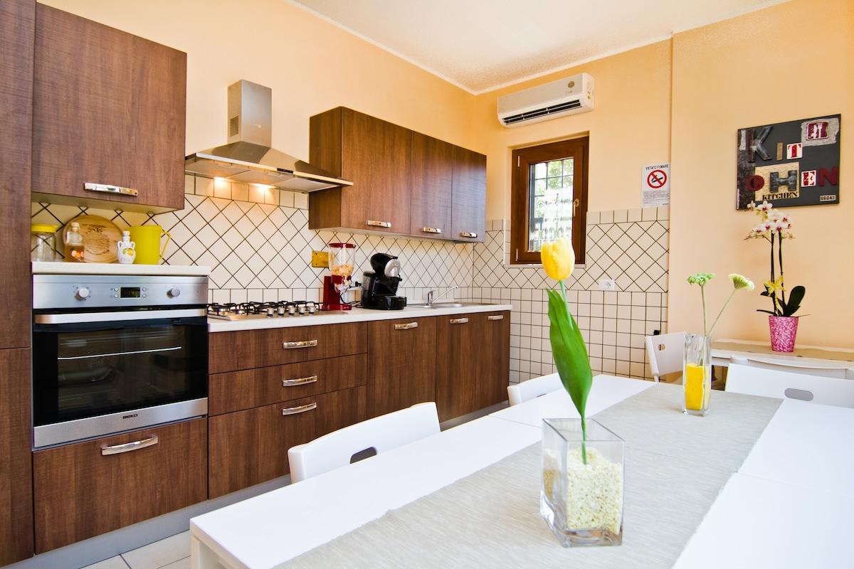 The yellow house - La casa gialla