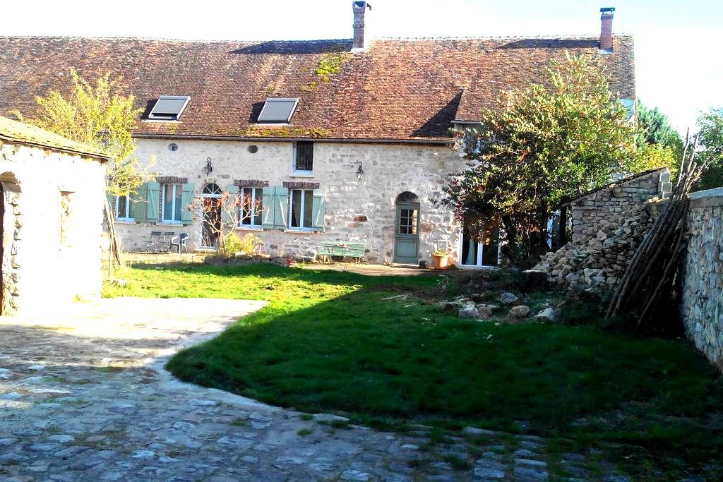 Ancienne ferme de chateau rénovée. - Villemaréchal - Дом