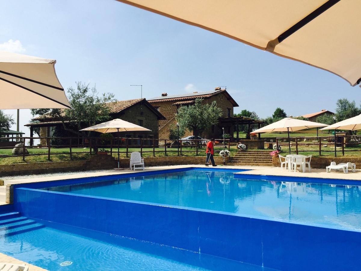 Borgo Nociquerceto, monolocale