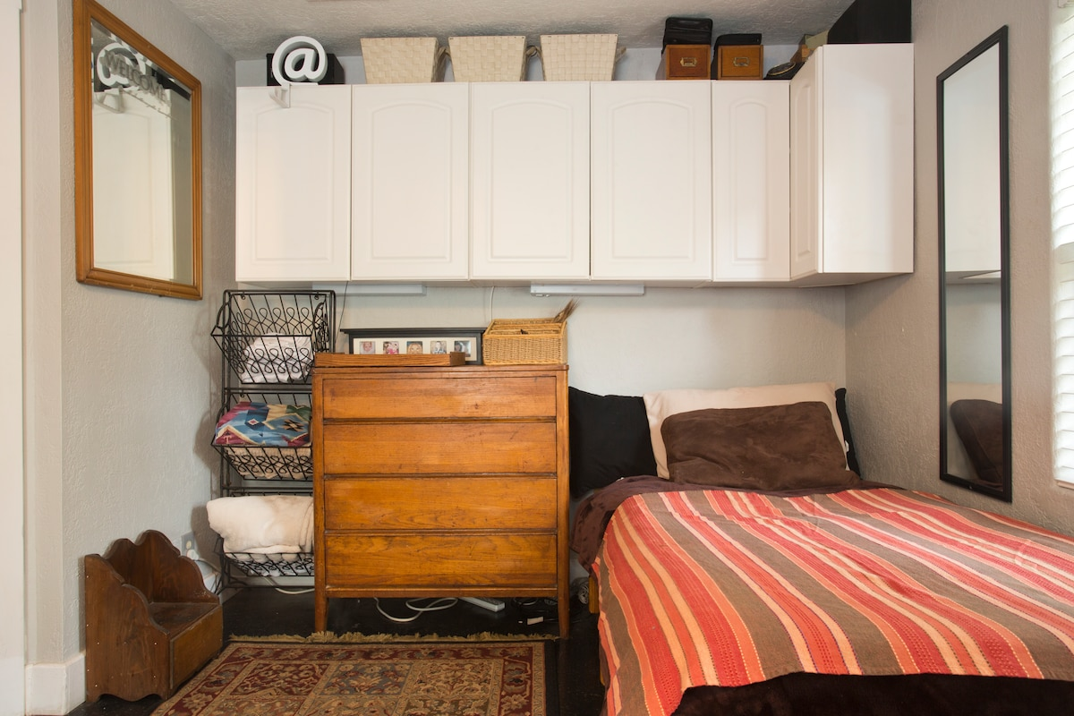 Single room with private entry