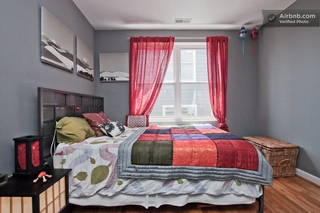 Neat room in 2 bd central apartment