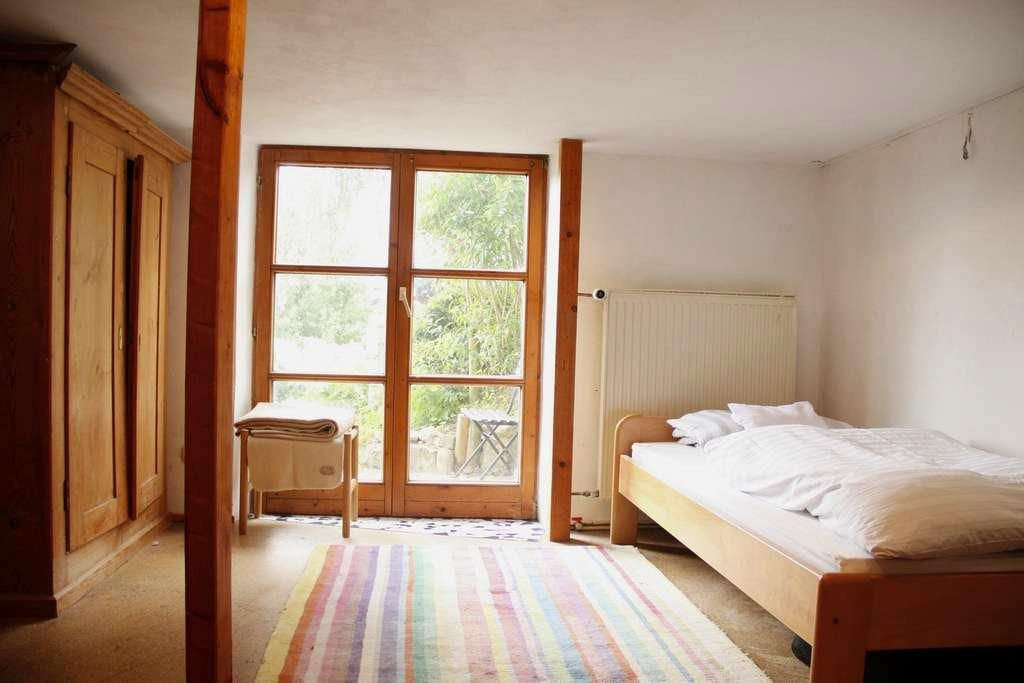 Zimmer in Häuschen mit Garten - Kempten (Allgäu) - Casa