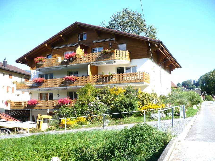 Eichbüel gemütliches Studio - Morschach - Apto. en complejo residencial