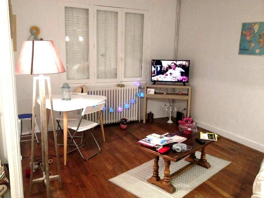 Chambre à Chauvigny city - Chauvigny - Wohnung