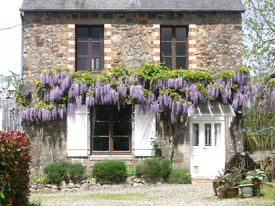 B&B with pool Nr. Le Mont St Michel - Isigny-le-Buat - Haus