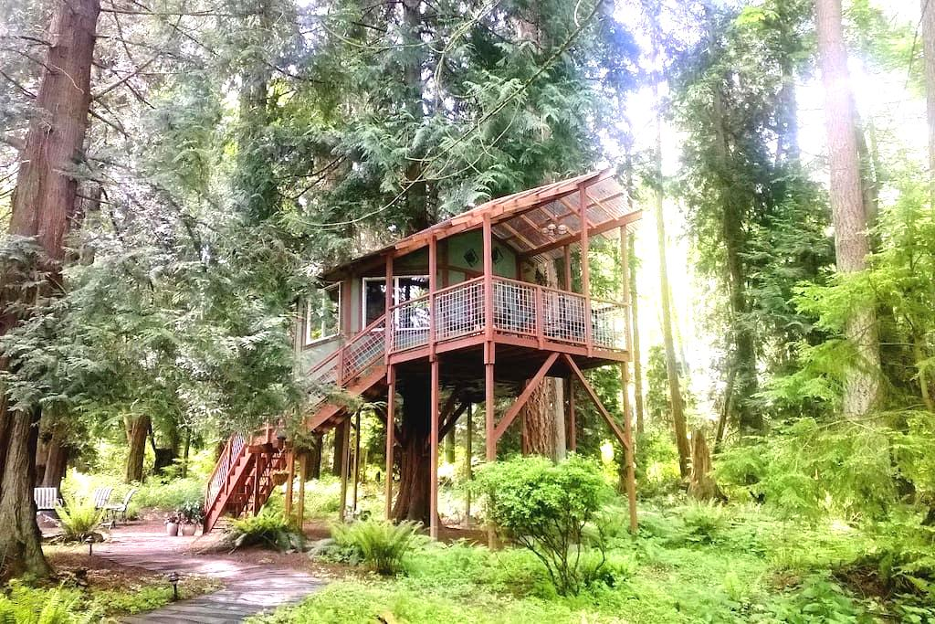 Tree House ~ Whidbey Island, WA  - フリーランド