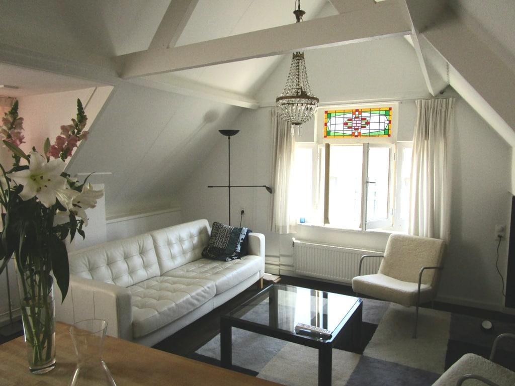 Bright attic in Den Bosch
