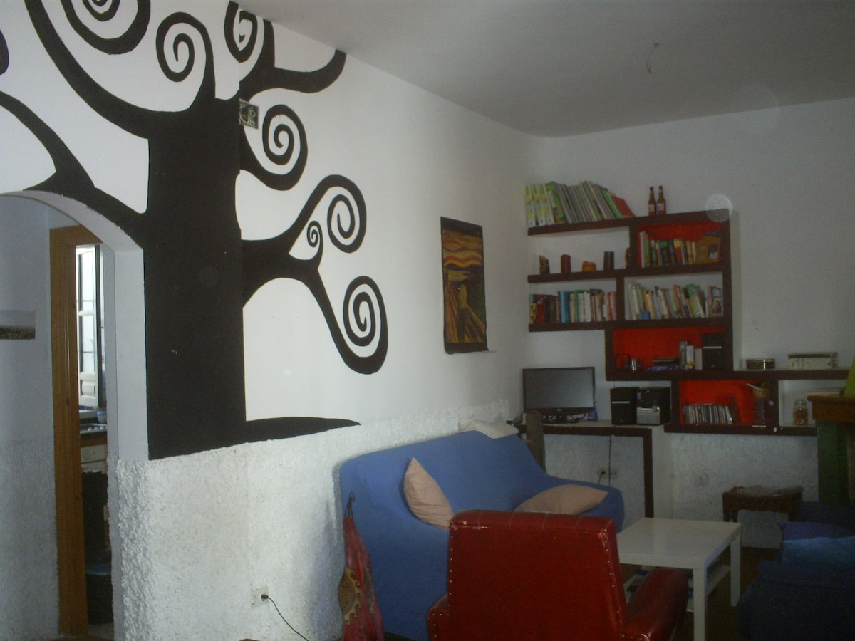room in a nice house in Granada