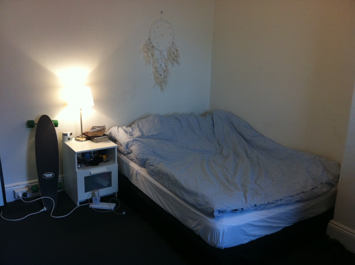 Large room & great location