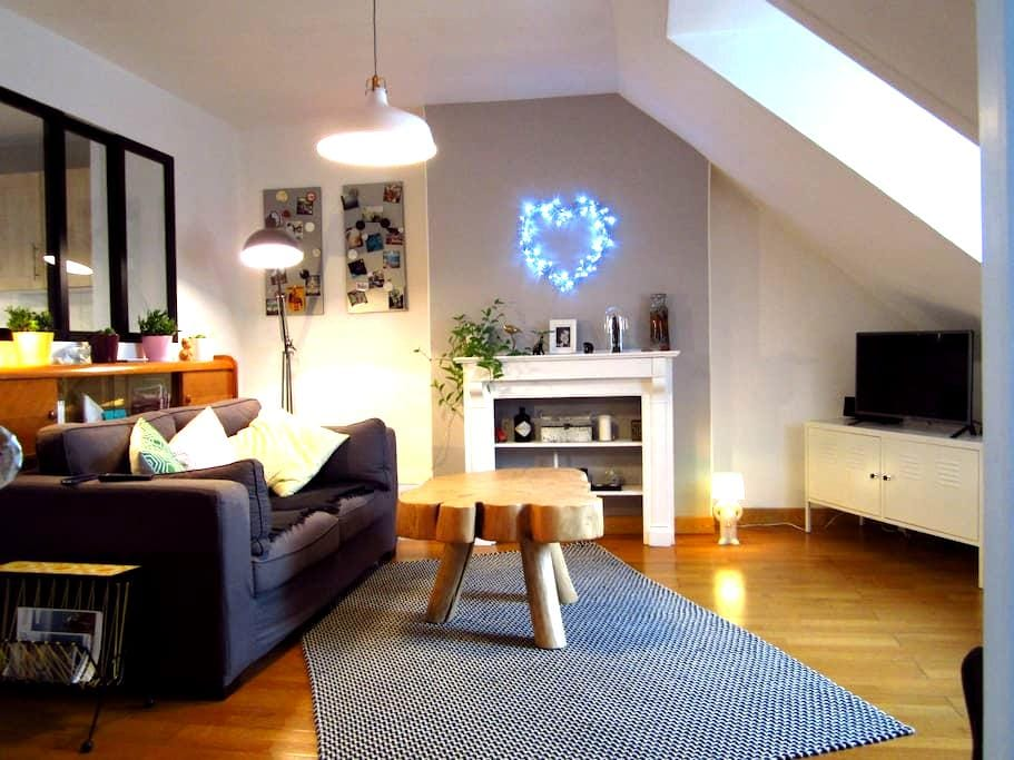 Lovely apartment - City Center - Landerneau - Departamento