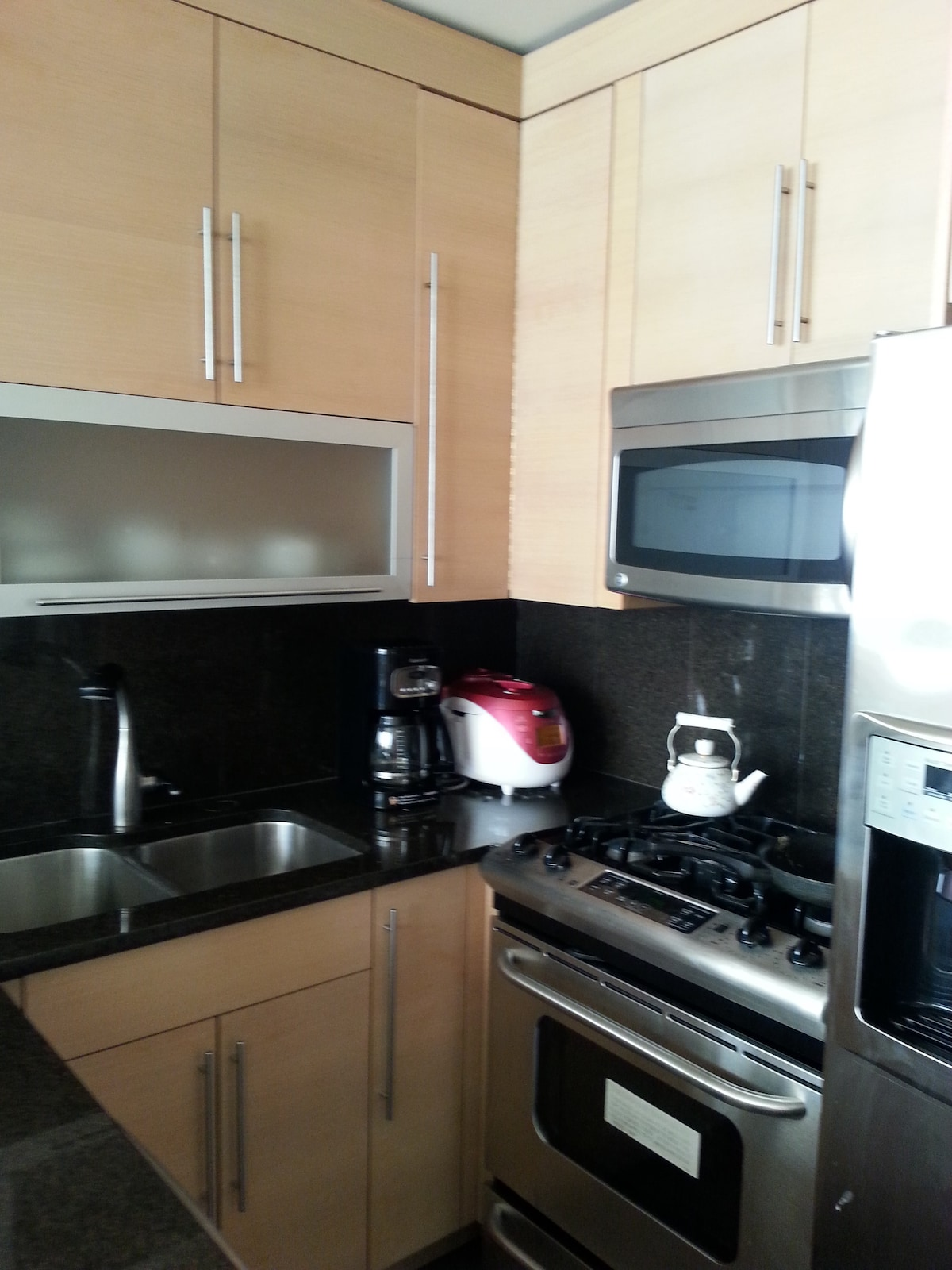 1 Bed. w/Full Bath in New 2Bed Apt.