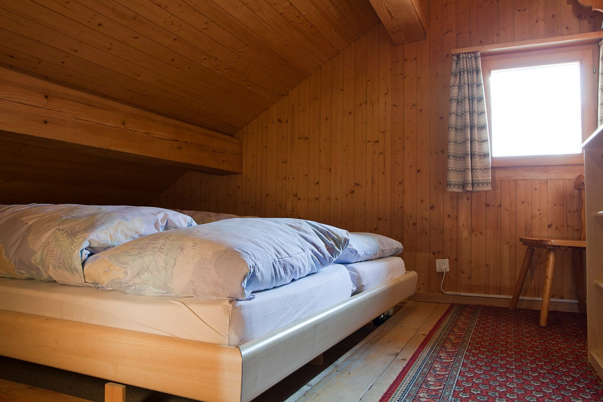 Chalet Jrene: Schlafzimmer / bed
