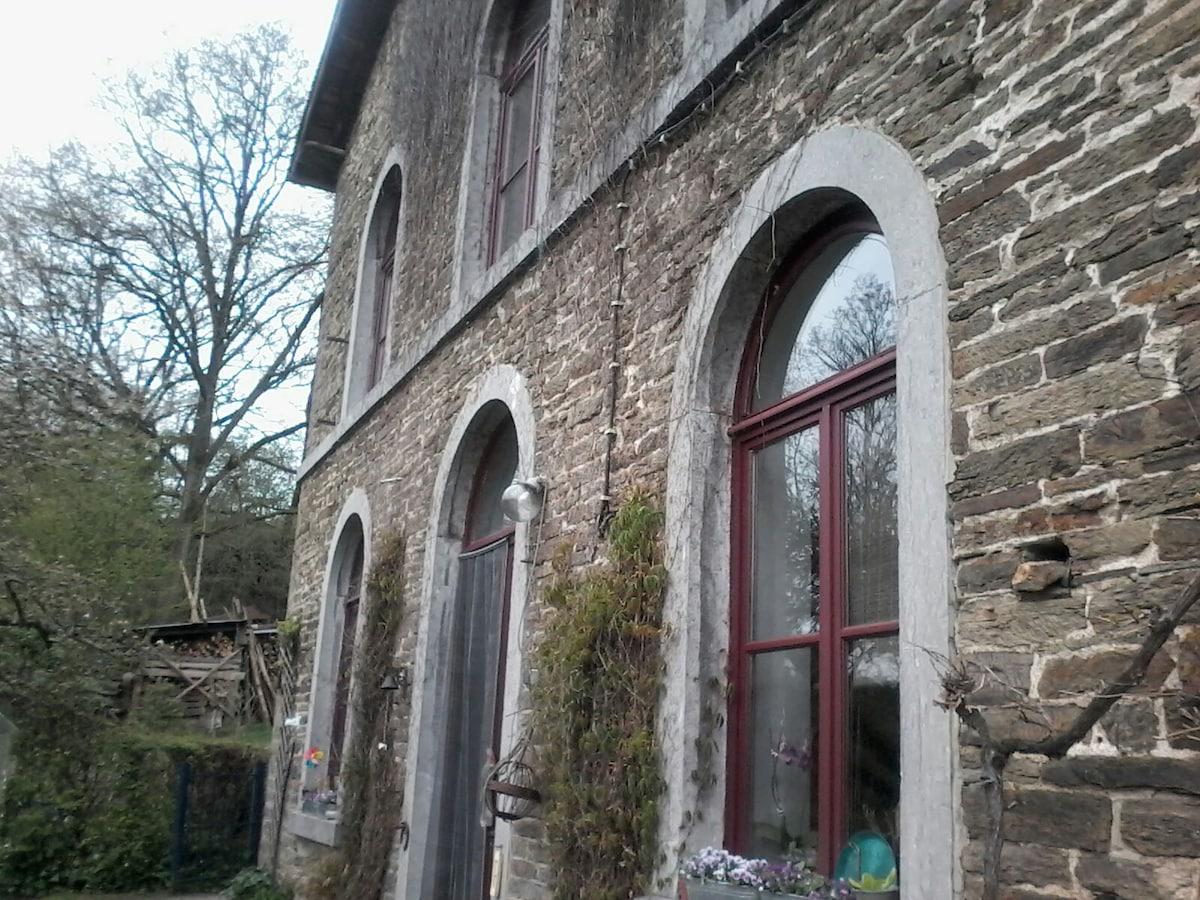 Oude dorpschool kamer 3/dubbelbed