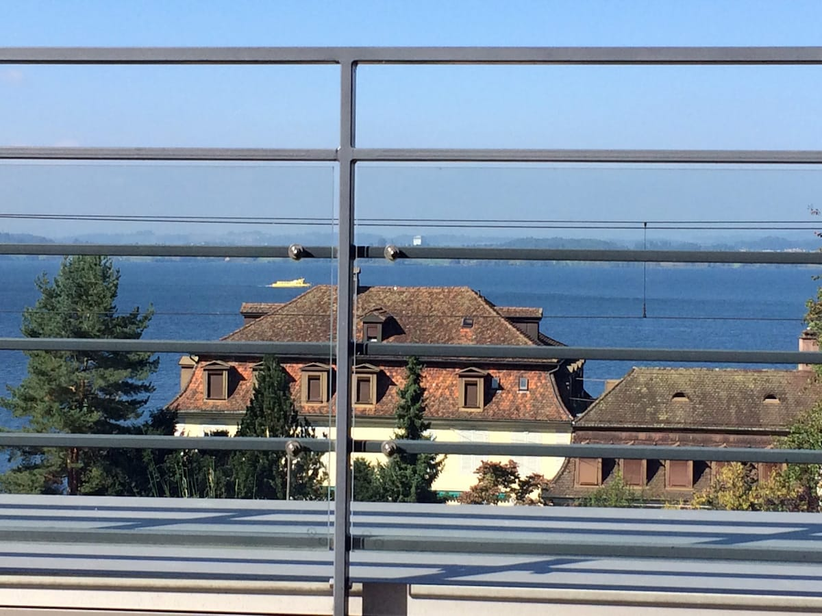 Lake-View-Bedroom in Zug