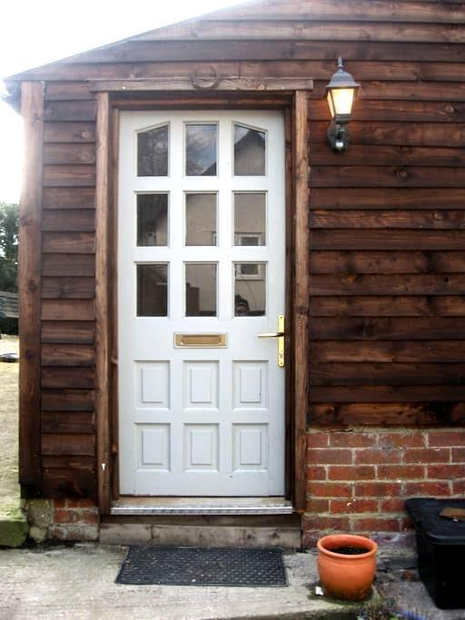 Converted 'tearoom' in Edington - Edington - Chalet