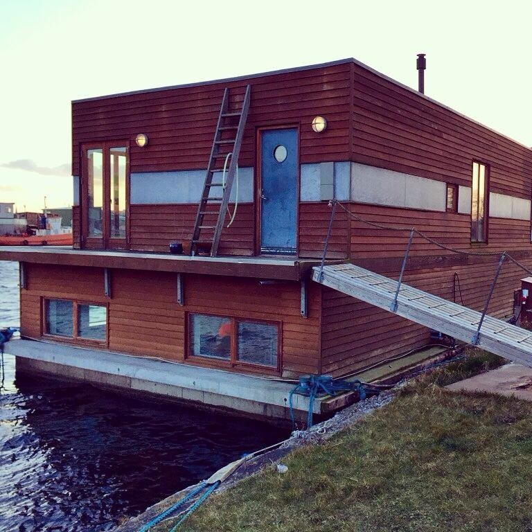 Floating palace in Cph