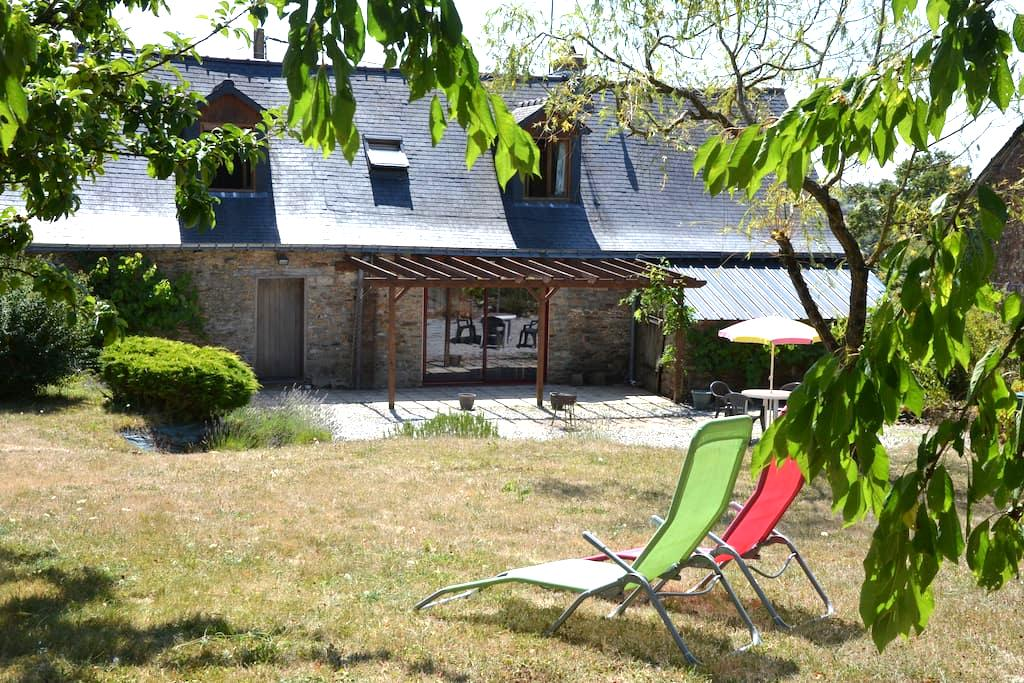 longère située  à 40 km sud Rennes - Rougé