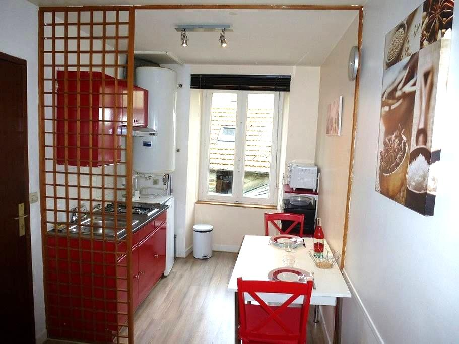 furnished flat in Cherbourg center  - Cherbourg - Appartement