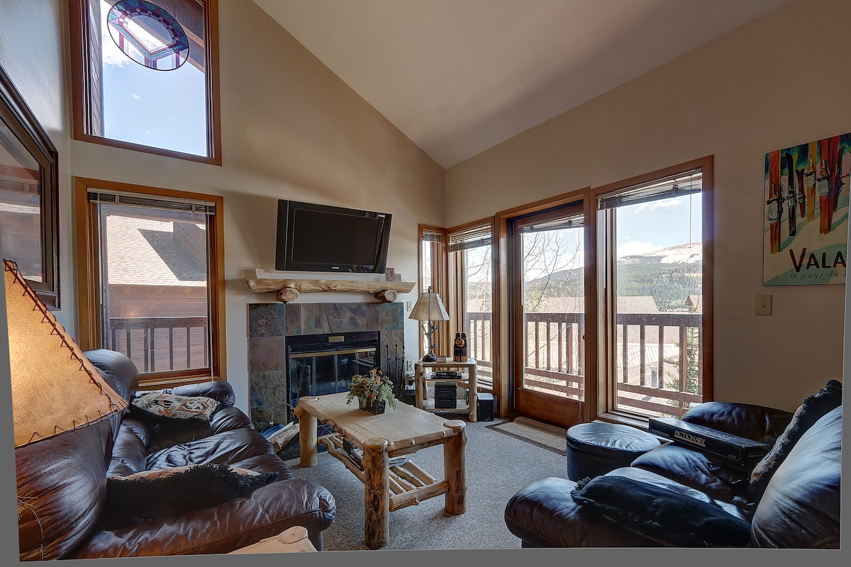 #1355 Ski In, Ski Out Tyra 4 Beds