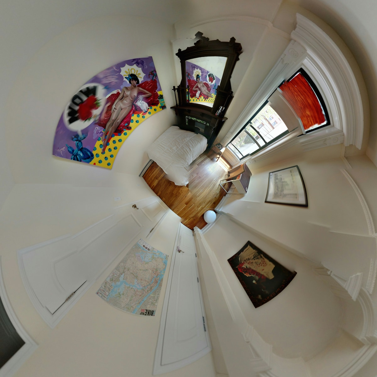 Areal view your bedroom