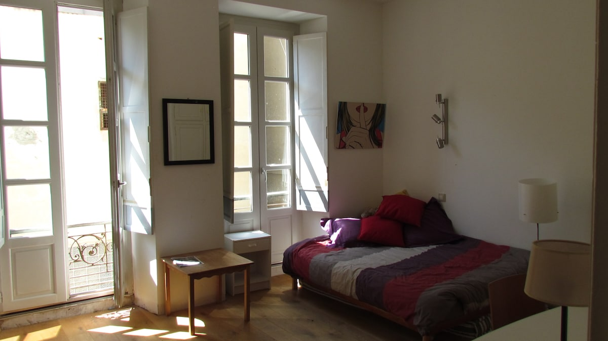 Chambre hyper centre Ville Avignon