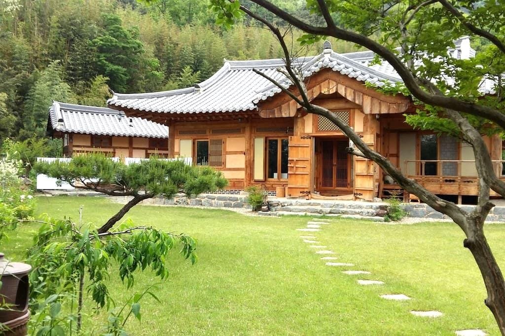 한옥달님방 - Damyang-gun - Casa