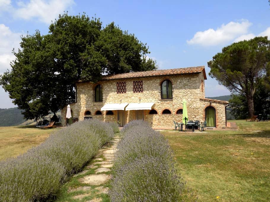 Podere Grignano, beautiful Tuscany. - Volterra - Departamento
