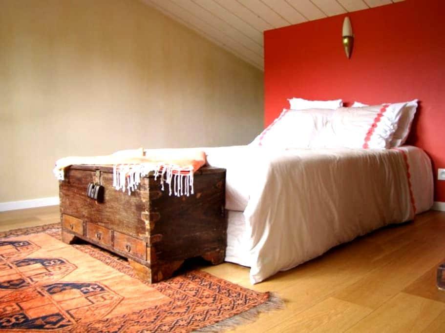 Chambre chez l'habitant - Rochecorbon - House