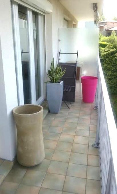 Loue 1-2 chambres dans appartement - Roche-la-Molière - Appartement en résidence