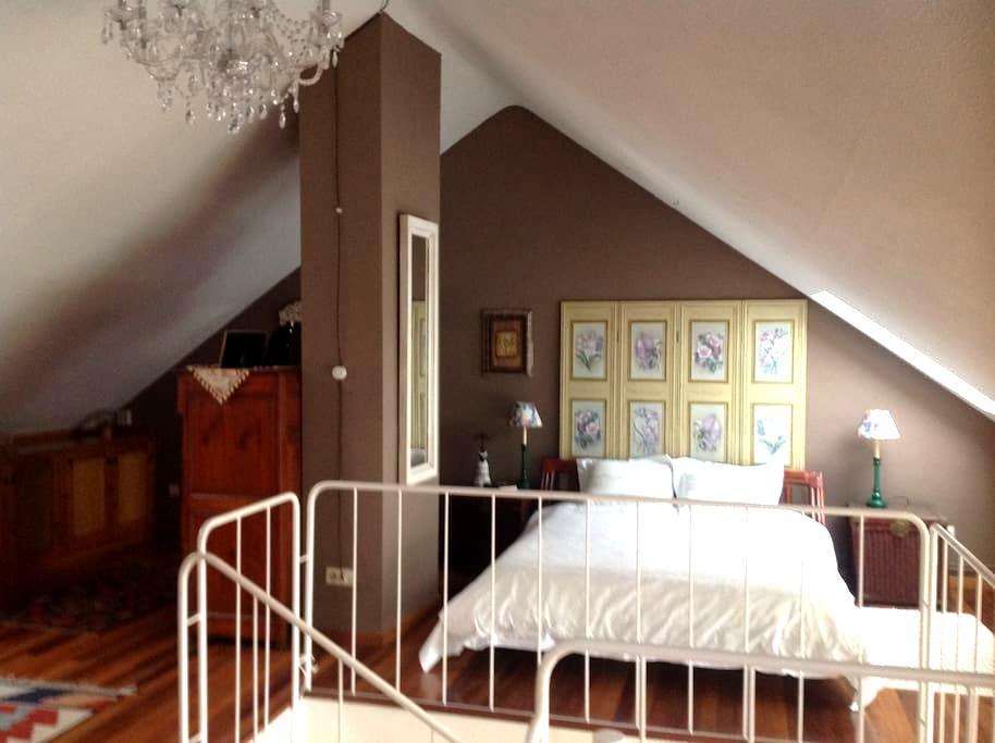 una habitacion con vistas al rio Pas - Arce - Dům