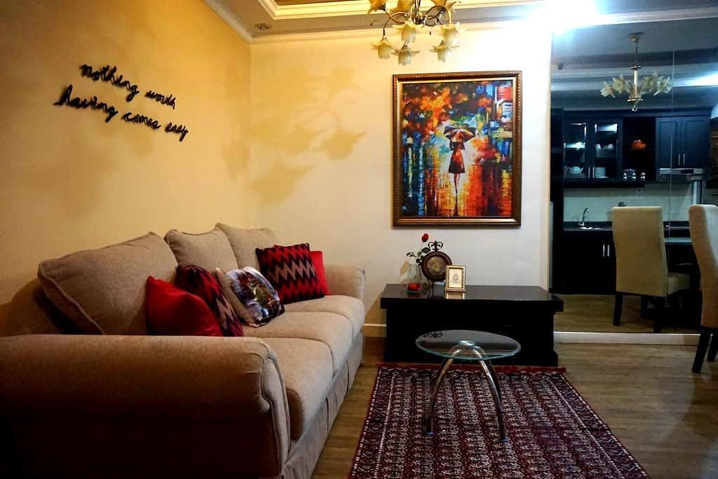 Cozy Apartment - Fast WiFi @ Central Jakarta - Tanahabang - Departamento
