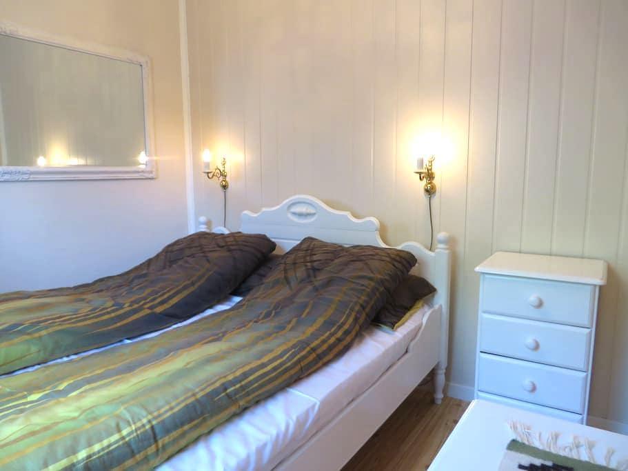 6/8 PERS. apartment v/bre og fjord - Fjærland