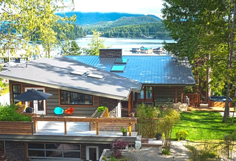 Modern Harbour View Home  - Tofino - House