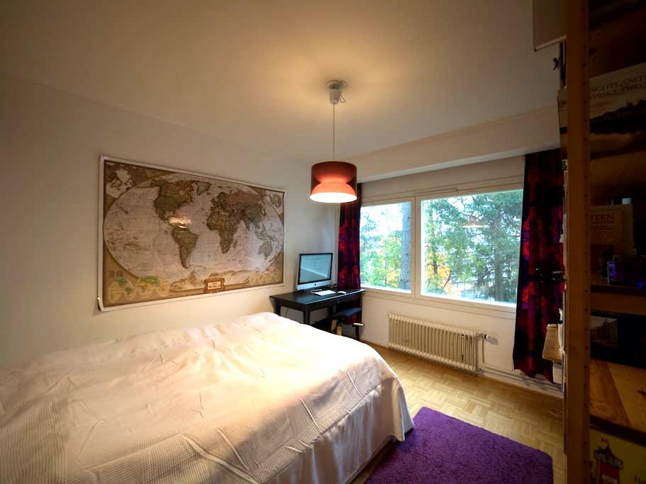 Cozy room, nature and sea- 15 mins to city center! - Espoo - Apartment