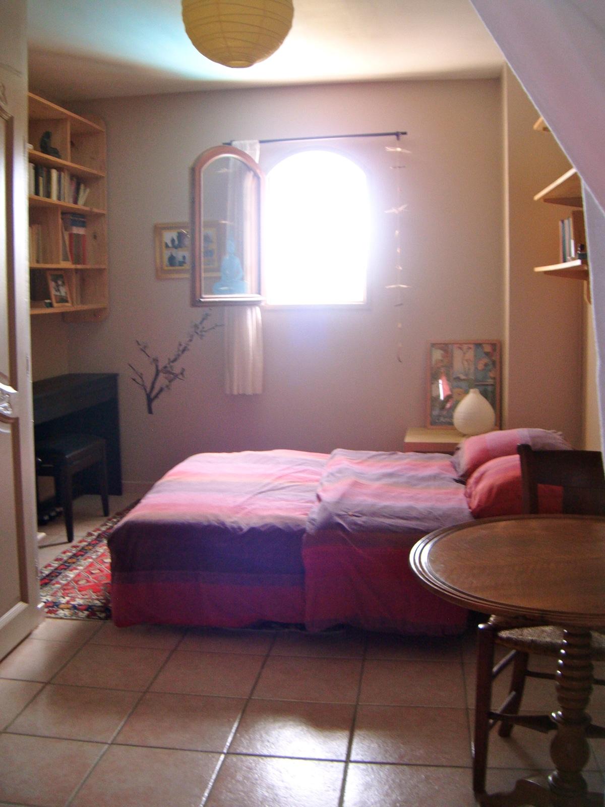 Chambre individuelle à l'étage