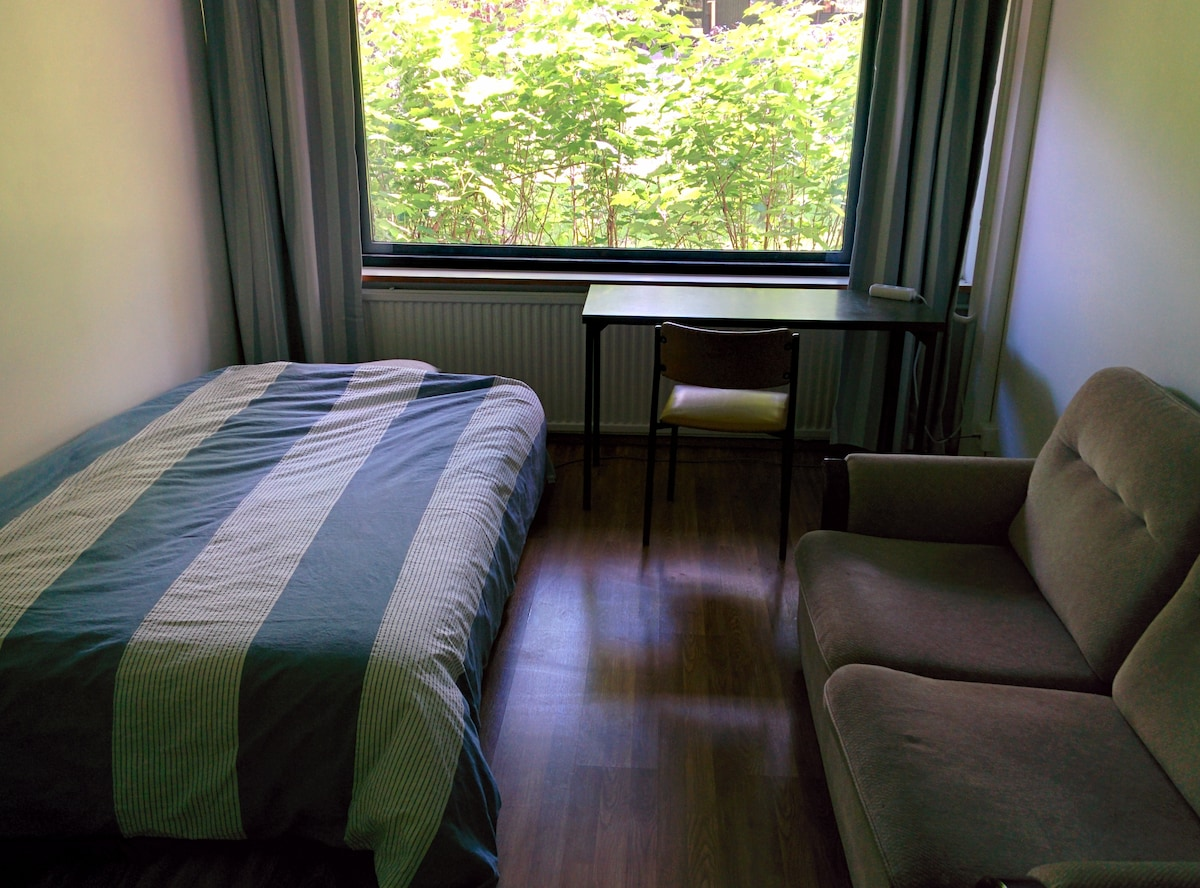 Simple and clean room in Otaniemi